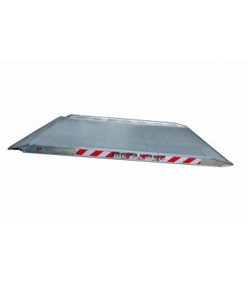 Aluminium ramp MPC 1800 1000 1000